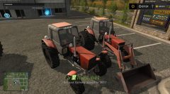 Мод на MTZ 82.1 Belarus Turbo для игры Farming Simulator 2017