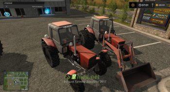 Мод на MTZ 82.1 Belarus Turbo для игры Farming Simulator 2017