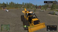Mод на Tigercat 630D Skidder для Farming Simulator 2017