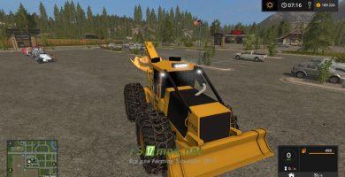 Mод на Tigercat 630D Skidder для Farming Simulator 2017