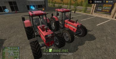 Мод на Case International 1255 XL Front Hitch System для FS 2017