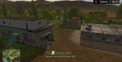 Мод на карту Озерная для игры Farming Simulator 2017