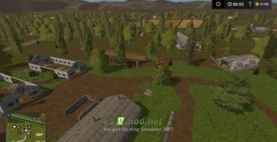 Ферма с верху