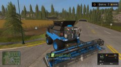 Мод на Комбайн RSM Torum 760 для Farming Simulator 2017