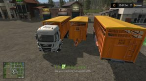 Мод на Fliegl Animal Transport Pack