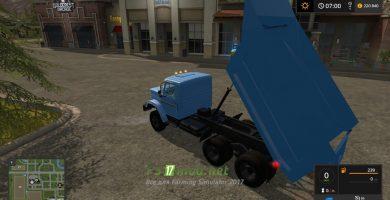 Мод на ЗИЛ-4514 для игры Farming Simulator 2017