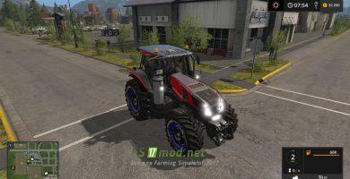 Мод на New Holland T8 Ultra для игры Farming Simulator 2017