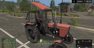 Мод на МТЗ 80.1 для Farming Simulator 2017