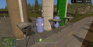 Мод на Addon Pellets Fermenting Silo For Golden Spike