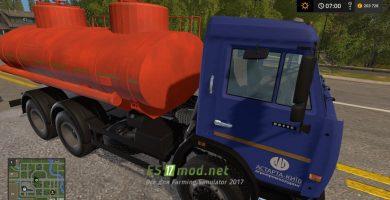КАМАЗ 65115 Бензовоз