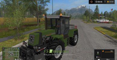 Мод на Fortschritt ZT 323 Dark Green