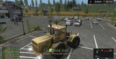 Мод на Трактор MR K 700А