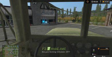 M35A2 Tractor вид с кабины