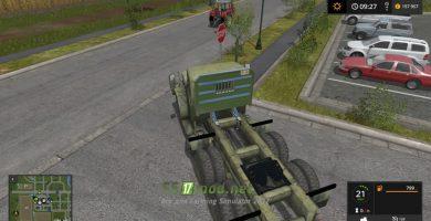 Мод на M35A2 Tractor для игры Фермер Симулятор 2017
