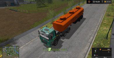 Мод на Нефаз 96742-10-06 Огнеопасно для игры Farming Simulator 2017