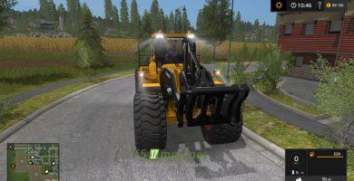Мод на Volvo L220H для игры Фермер Симулятор 2017