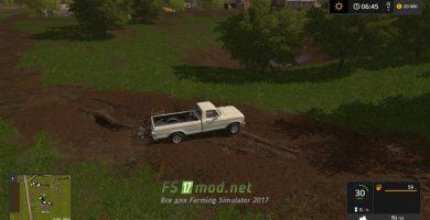 Машина и грязь