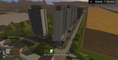 Жилые кварталы