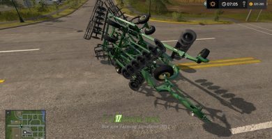 Мод на John Deere 2720 для игры Фермер Симулятор 2017
