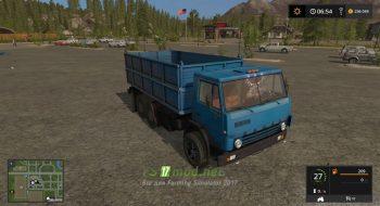 Мод на грузовик КАМАЗ-5320-2 для игры FS 2017