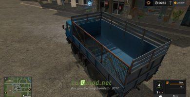 Мод на грузовик КАМАЗ-5320-2
