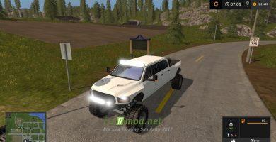 Mод на Dodge Mega Ram