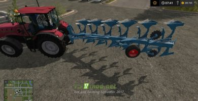 Мод на Lemken Juwel 8 Blue для игры Farming Simulator 2017