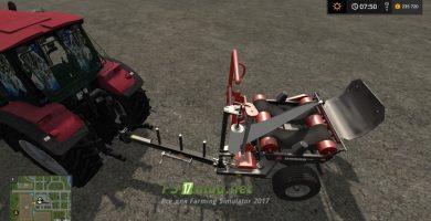 Мод на Ursus Z-586 Fast Wrap для игры Фермер Симулятор 2017