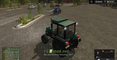 Mод на ЮМЗ 8240 4X4 для игры Farming Simulator 2017