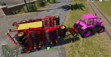 Multiseeder с трактором