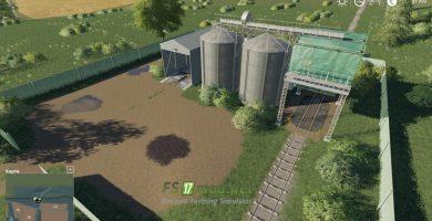карта «Село Ягодное» для игры Farming Simulator 2019