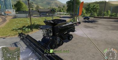 Мод на Agco Ideal Harvester