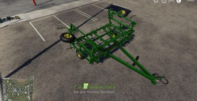 Мод на John Deere 1600 Chisel Plow для игры Farming Simulator 2019