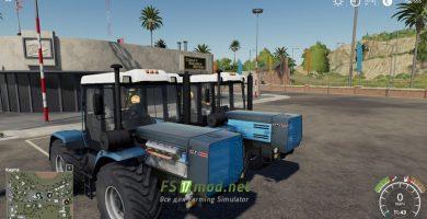Мод на трактор ХТЗ-17221 для Farming Simulator 2019