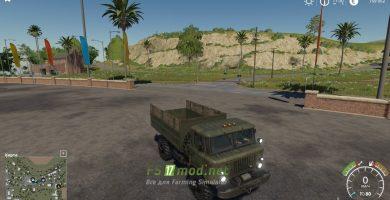 Модификация на Газ-66 для игры Farming Simulator 2019
