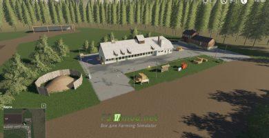 Мод на карту Landkreis Breisgau для игры Farming Simulator 2019