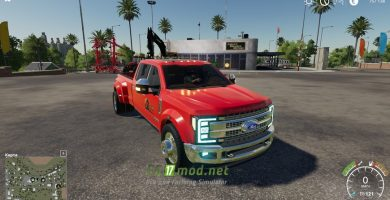 Мод на Ford F-450 2017 Platinum Lighting Package