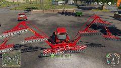 Mод на Einbock Aerostar Rotation 2400 для игры Фермер Симулятор 2019