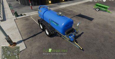 Mод на цистерну Zunhammer Milk And Water Barrel