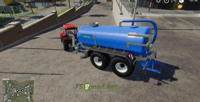 Zunhammer Milk And Water Barrel