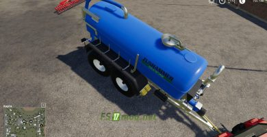 Mод на цистерну Zunhammer Milk And Water Barrel для Farming Simulator 2019