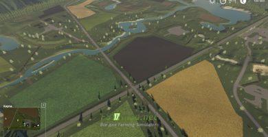 Мод на карту «Простоквашино» для игры Фермер Симулятор 2019