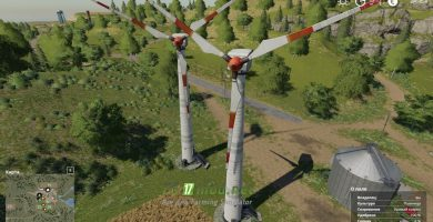Mод на Placeable Wind Turbine Revenue Generator