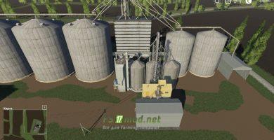 Мод на карту «Черкащина» для игры Farming Simulator 2019