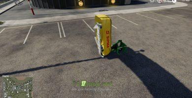Mод на Sipma Preria 1600 для игры Farming Simulator 2019