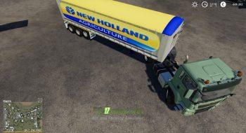 Mод на Trailer New Holland для игры Симулятор Фермера 2019