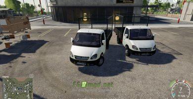 Мод на автомобиль Газ-3302 для игры Farming Simulator 2019