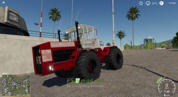 Мод на трактор Кировец К-710 для игры Farming Simulator 2019