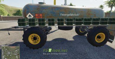 Fortschritt HL 50/45.2 Tanker вид с боку