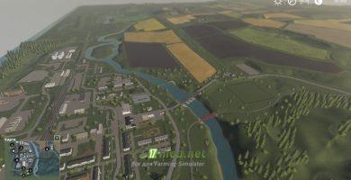 Мод на карту «Село Ягодное» для FS 2019
